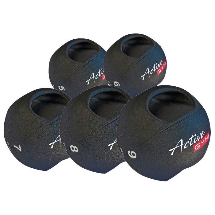 Медицински Топки с дръжки Active Gym 3-10кг НОВИ