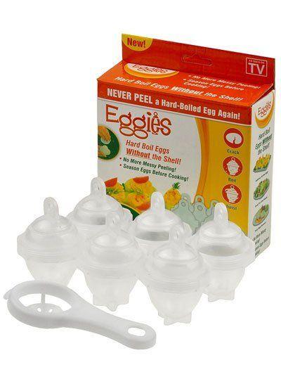 Формы Eggies для варки яиц без скорлупы