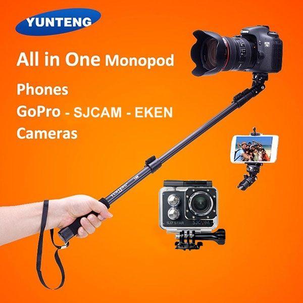 Monopied Yunteng YT-188 Profesional Selfie Stick Foto/ GoPro/ Smartpho