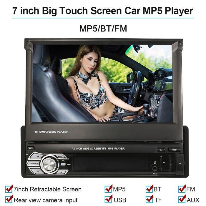 Dvd Auto Retractabil.ecran 7.0 inch Garantie 2 ani. Transport Gratuit