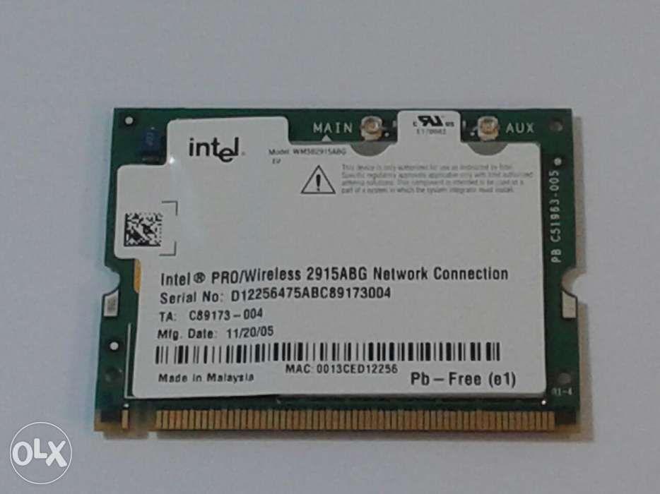Placa retea wireless Mini PCI Intel