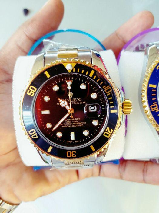 Rolex preto...