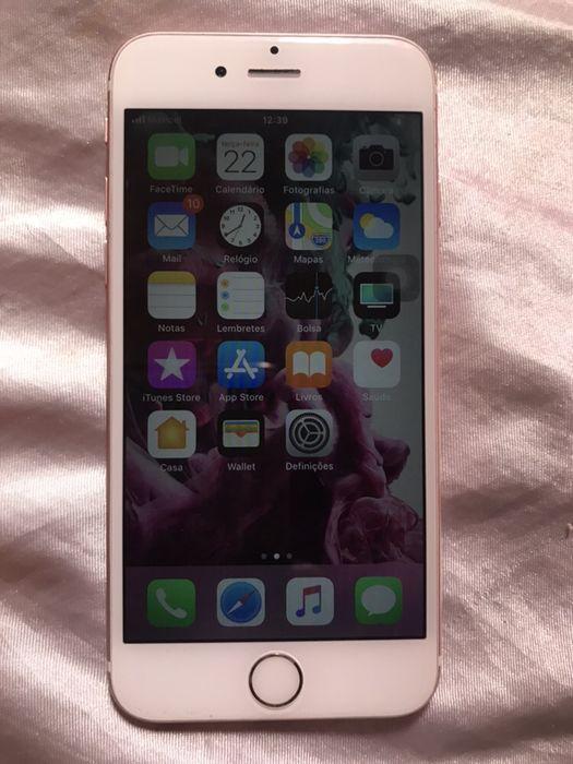 iPhone 6s rose gold semi novo