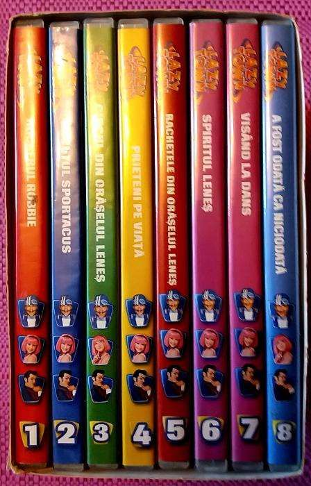 colectie dvd copii oraselul lenes