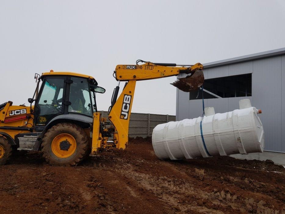 Montaj montez fose septice ecologice