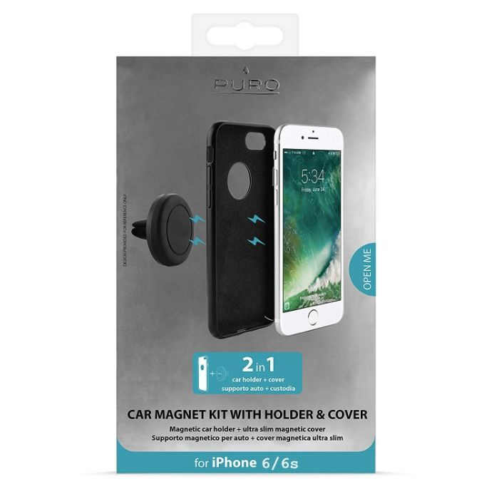 Suport magnetic pt telefon iphone 6 si 6s PURO Itallian Style