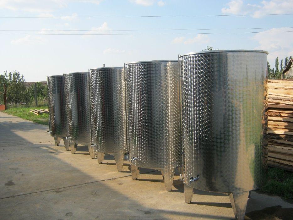 Productie Cisterne/Butoaie/Vase Inox Alimentar Vinificatie