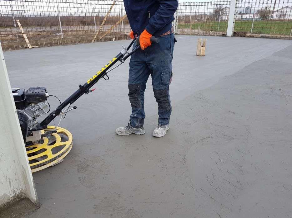 Turnari si finisari pardoseli beton