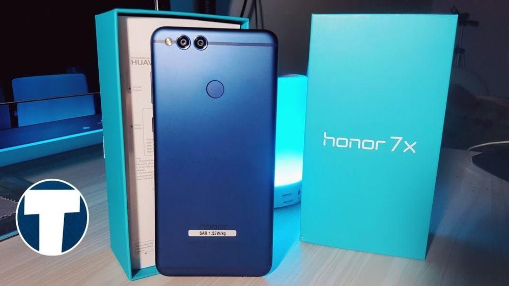 Huawei Honor 7X 2018 [ novo na caixa ]
