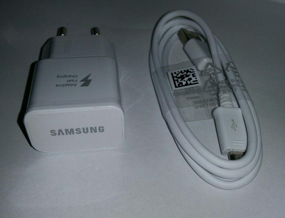 Incarcator+cablu de date original Samsung Fast Charge S6,S7,Edge,Note4