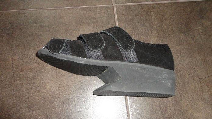 pantof ortopedic pentru amputatii membrul stang