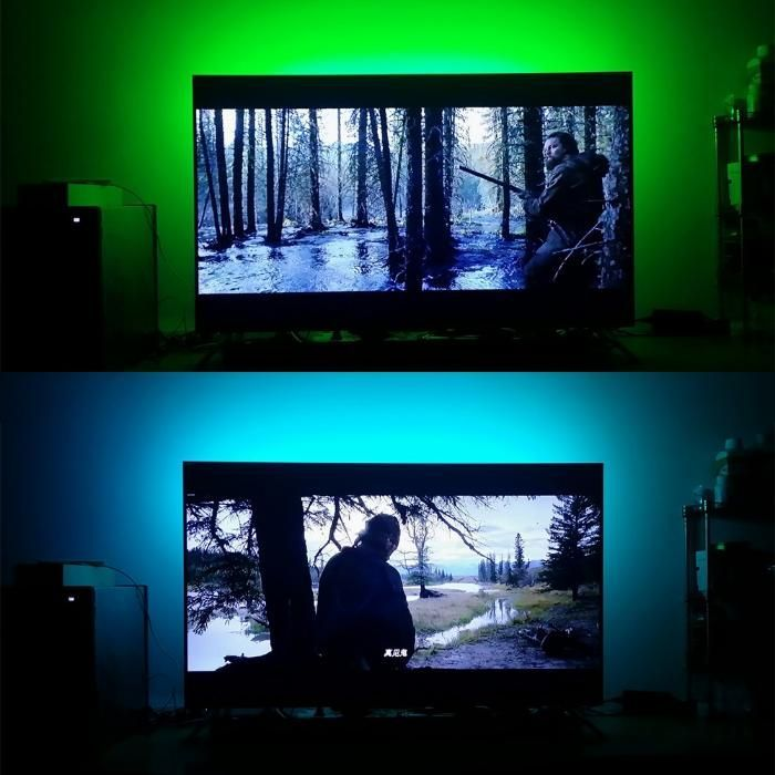 USB Лед лента RGB самозалепваща се/ LED лента / УСБ ЛЕД 2 и 5 метра