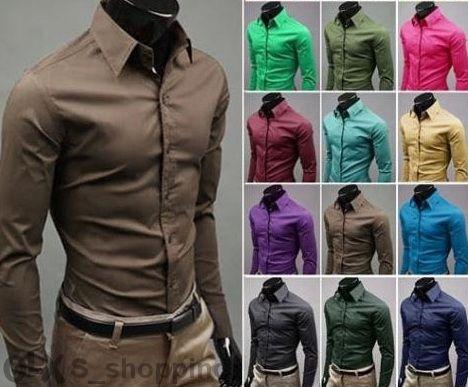 971cc83d702 17 цвята Мъжки едноцветни вталени ризи rizi riza ednocvetni vtaleni гр.  Стара Загора - image