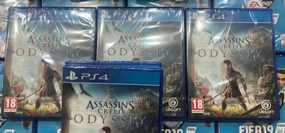 Assasins Creed Odyssey jogos para PS4 selados