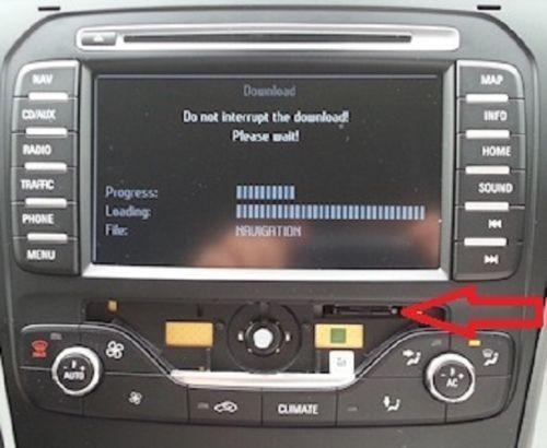 SD Card navigatie Ford MCA MFD Mondeo Kuga S-Max Galaxy Focus Romania