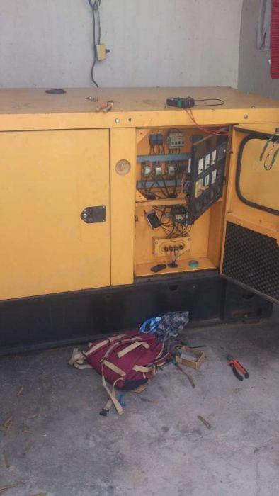 Reparação de grupos diesel geradores