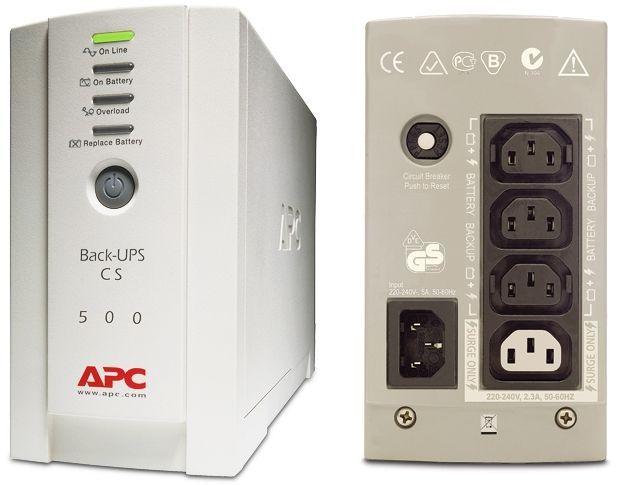 UPS APC CS 500 в изрядно състояние