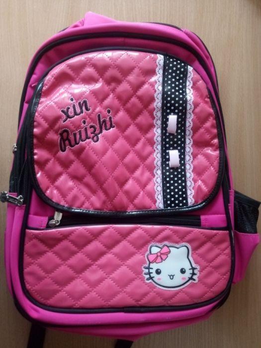 Школьный рюкзак для девочки,новый,розовый,большой. Подарок принцессе