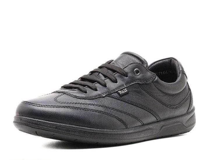 Мужские кожаные кроссовки Ralf Ringer. Размер 41-42