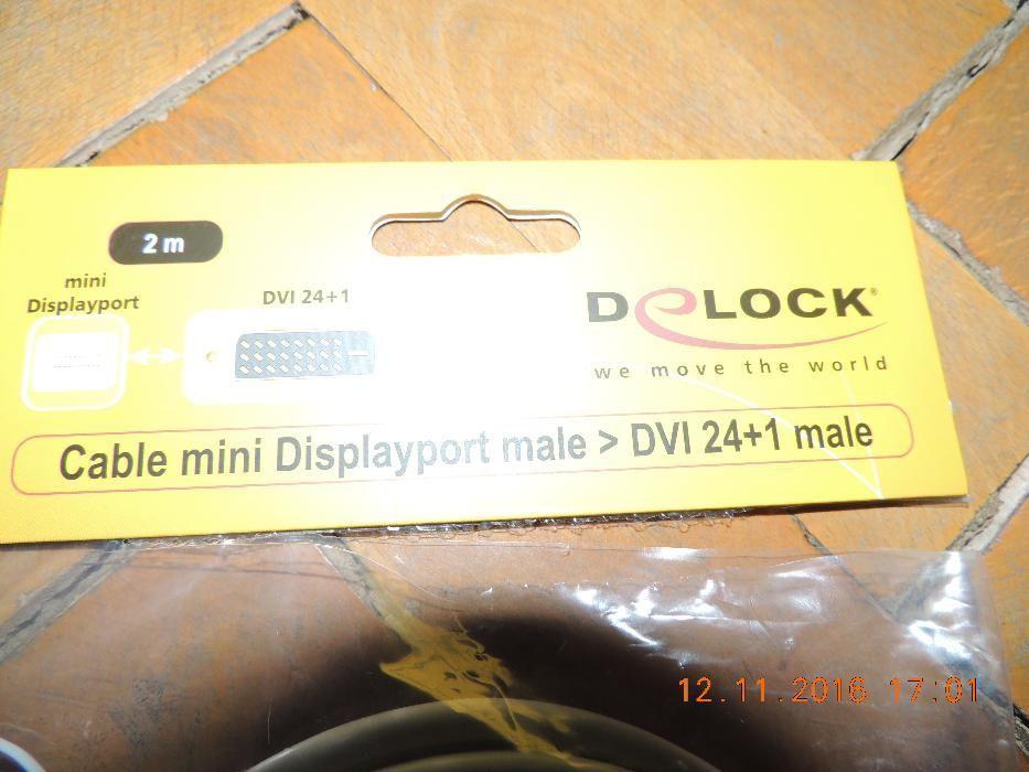 Cablu mini Displayport Male-DVI 24+1 Male
