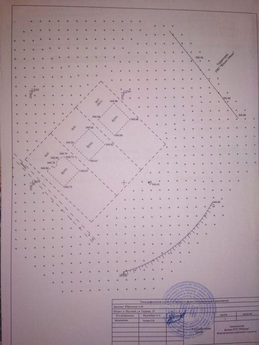 Продам земельный участок с фундаментом в посёлке Научный.