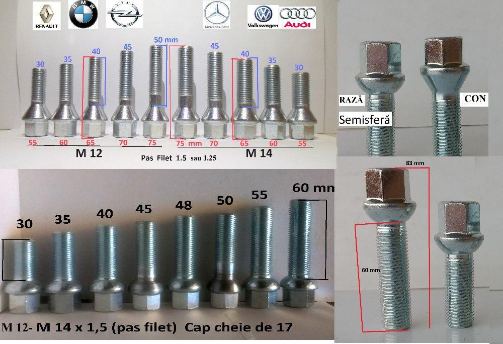 Prezoane Lungi Orice model M12 , M 14 pas 1,5 sau 1,25 Noi !!!