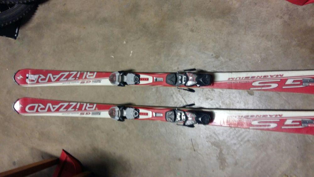 Ski Blizzard GS WORLDCUP 165 cm legături Marker 7
