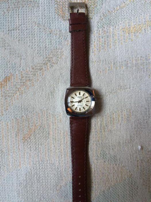Vand ceas mecanic elvetian Camy de dama inox