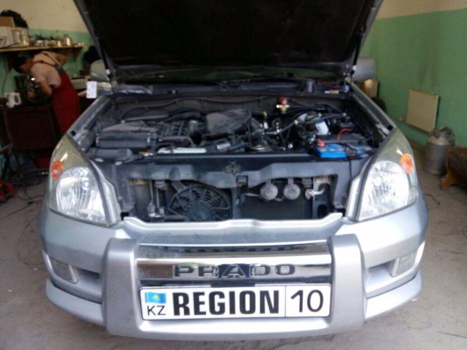 Установка ГБО на Toyota LC Prado