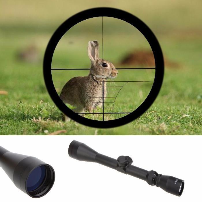 Mira Telescópica para Arma Pressão de AR 3-9x32