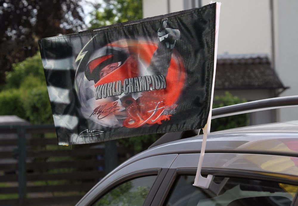 steag M. Schumacher - 2 buc. pentru masină (collecţia originală)