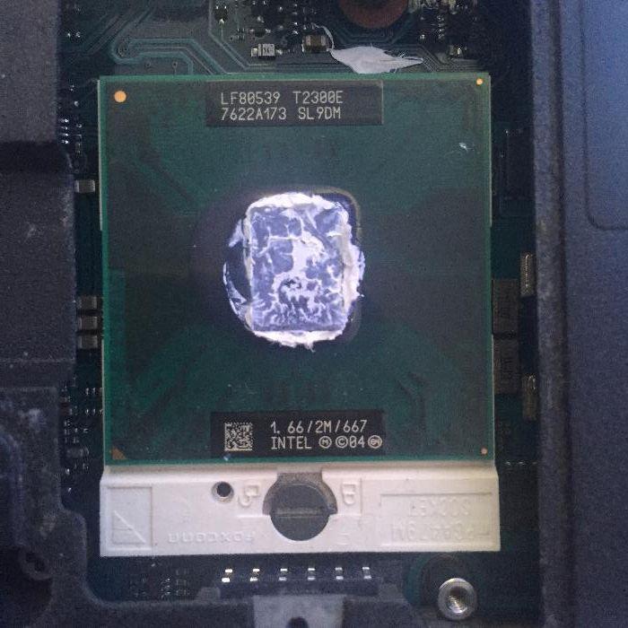 Procesoare laptop Intel Core2 Duo T5600 Core Duo T2080 T2300E