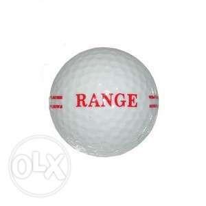 vand minge de golf marca RANGE de culoare alb