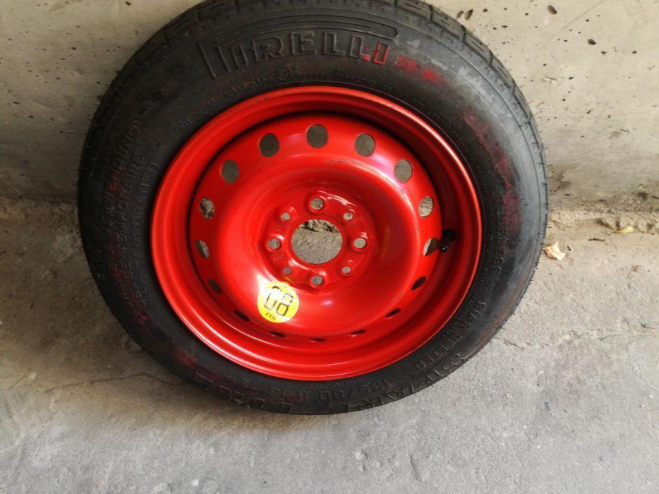 """Резервна гума тип """"Патерица"""" + винтов крик до 700кг. + ключ за болтове"""