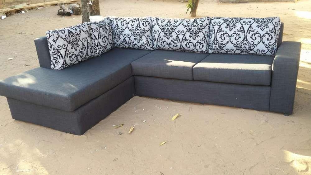 Conjunto de sofá em formato L Maputo - imagem 2
