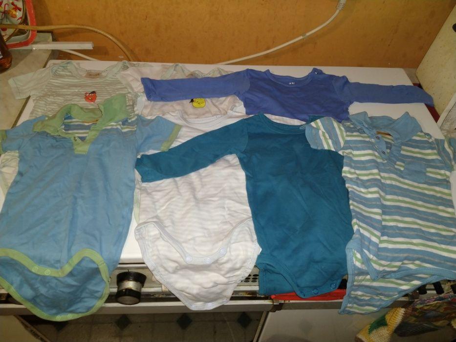 Бебешки бодита 74/80 см - 7 броя