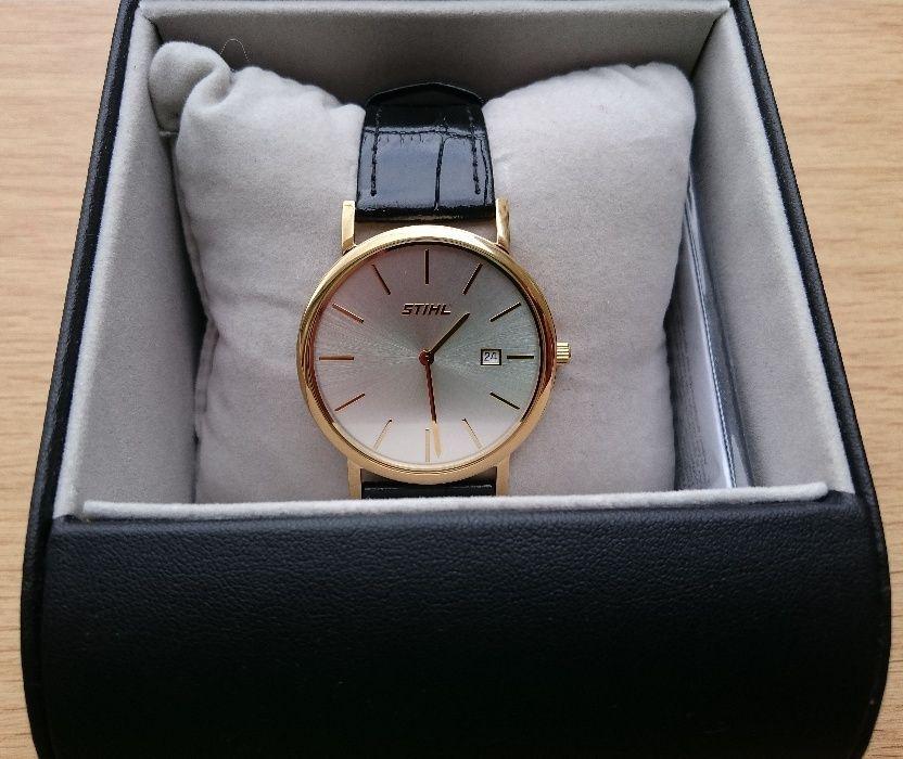 Позлатен ръчен часовник STIHL ЛИМИТИРАНА СЕРИЯ - за истинските ФЕНОВЕ!
