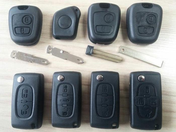 Кутийка ключ дистанционно Пежо/Peugeot Ситроен /Citroen