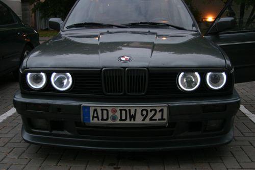 Grile negre BMW seria 3 E30 82-94