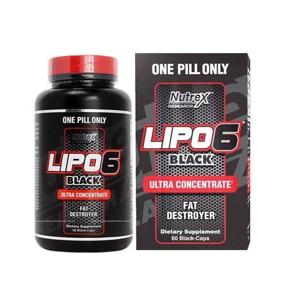 Lipo 6 Black Ultraconcentrat