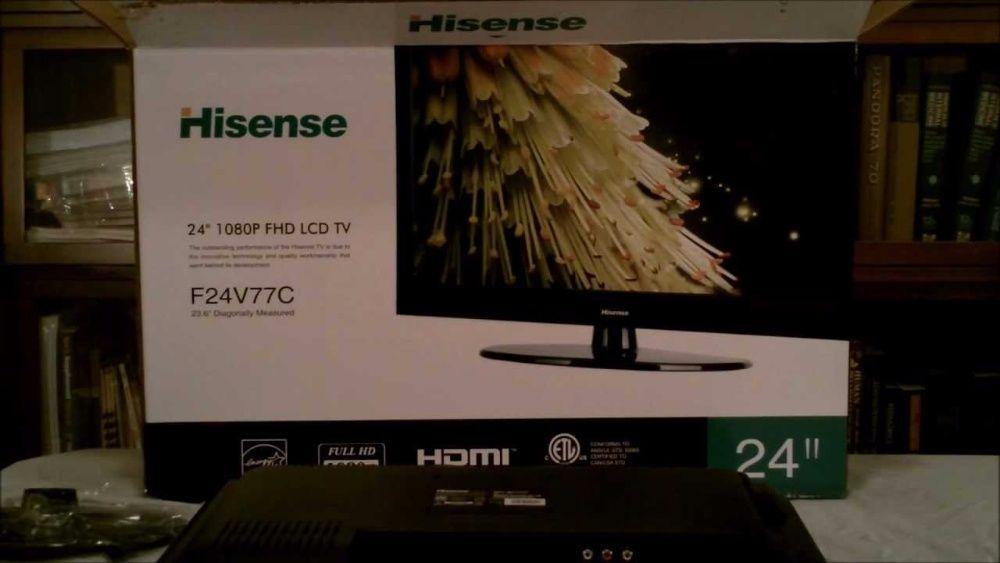 "Tv led 24""polegadas hisense"