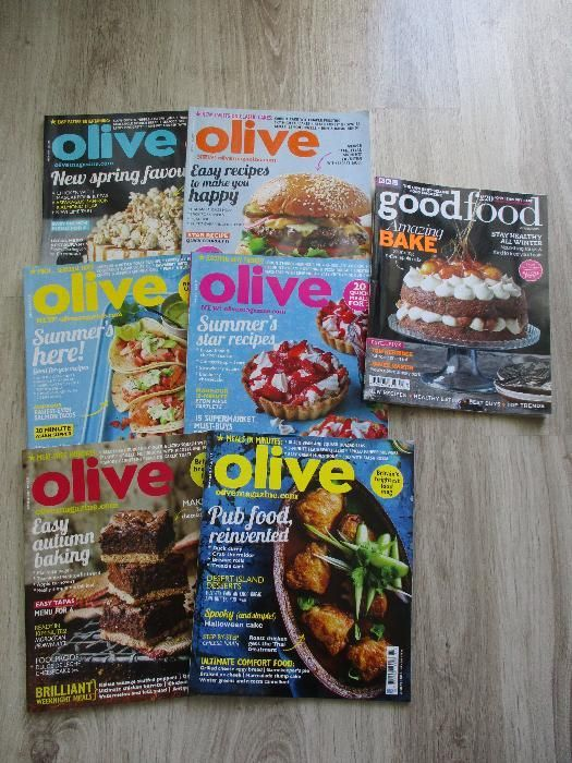 Списания GoodFood и Olive