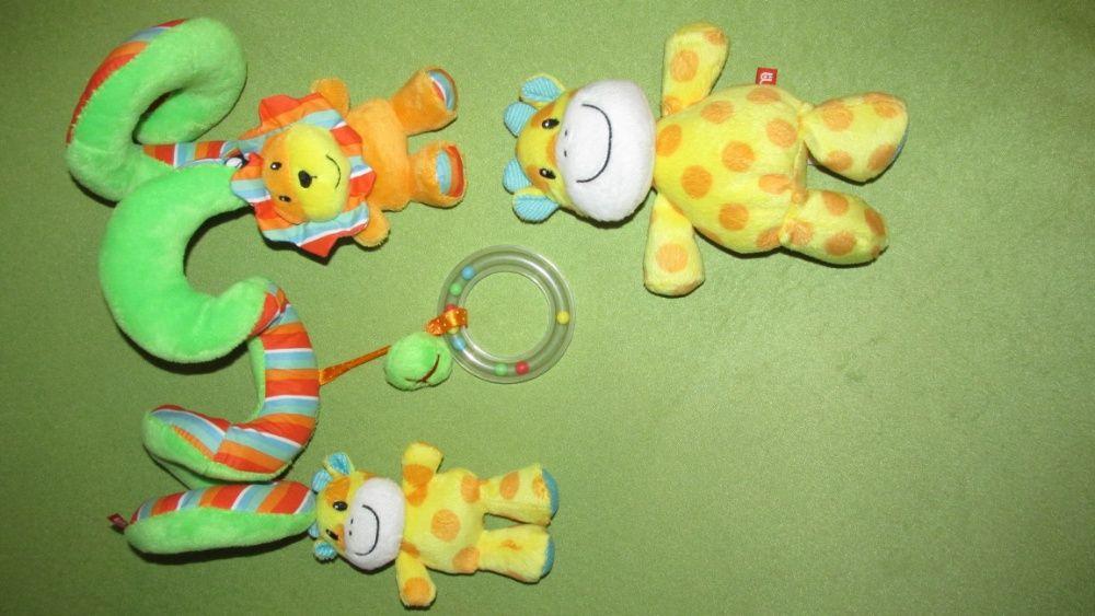 Set jucarii plus pentru carucior-MOTHERCARE-arc + girafa-originale
