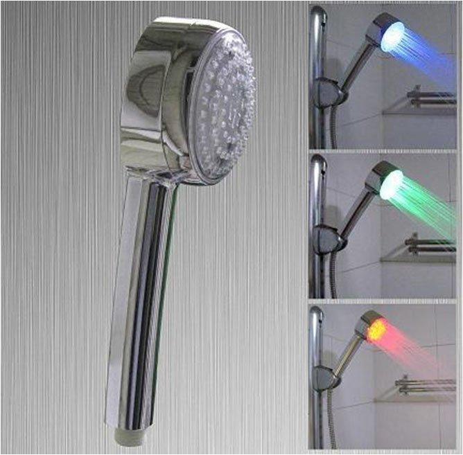 Светеща LED Душ слушалка