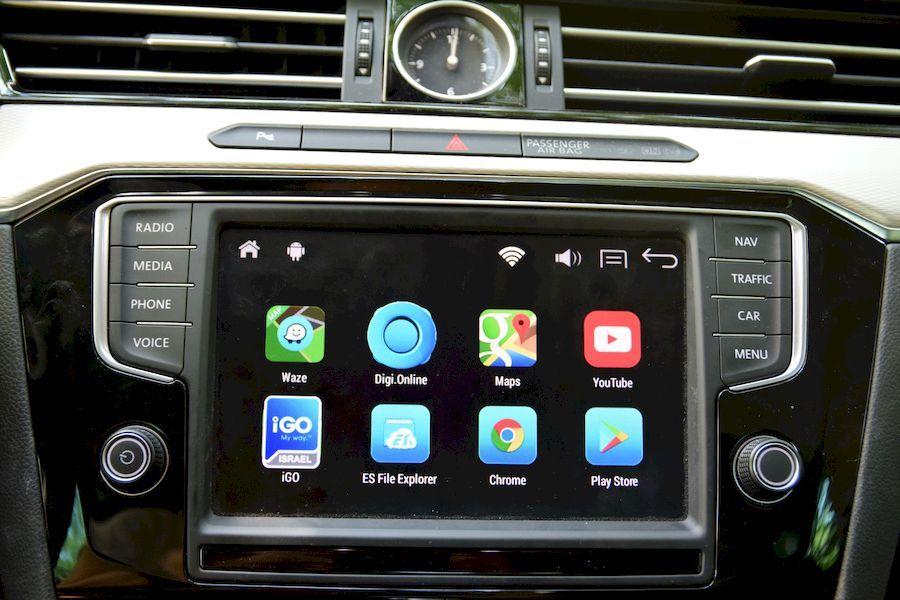 Navigatie Passat B8 Android -Interfata-functioneaza cu unitatea OEM