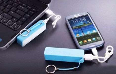 Baterie externa Mobile Power Bank Keychain de 2600 mAh