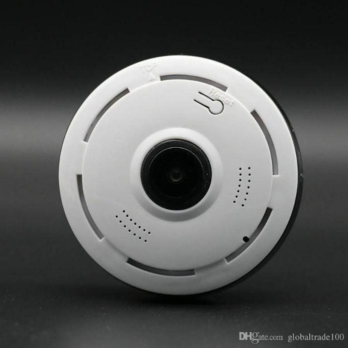 câmara discreta 360º com montagem acesso telemóvel