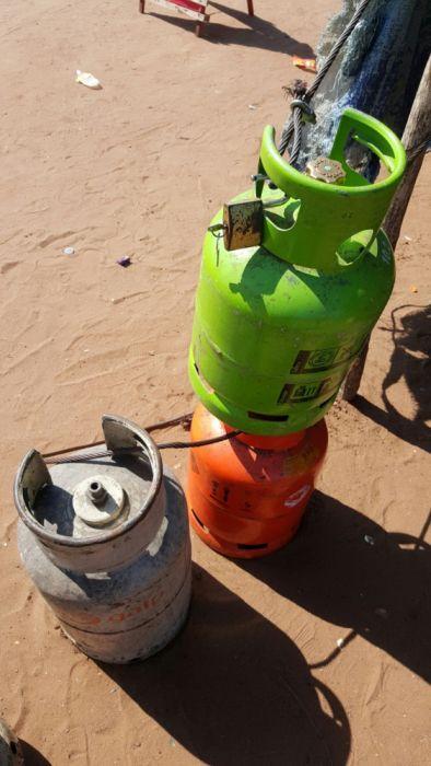 Botijas de gás de 11kg a venda