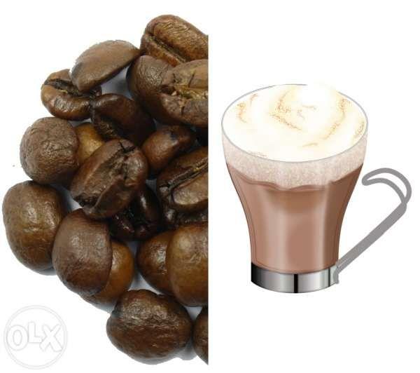 Cafea Boabe cu aroma de Vanilie - 1 kg