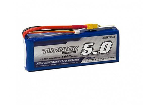 Turnigy Acumulator LIPO pentru drona 11.1V 5000mAh 3S 20C
